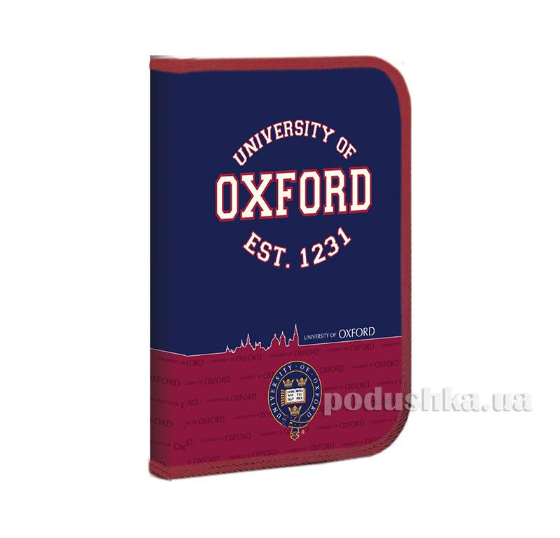 Папка для труда на молнии  с карманом FC Оксфорд 1 Вересня 1-490905