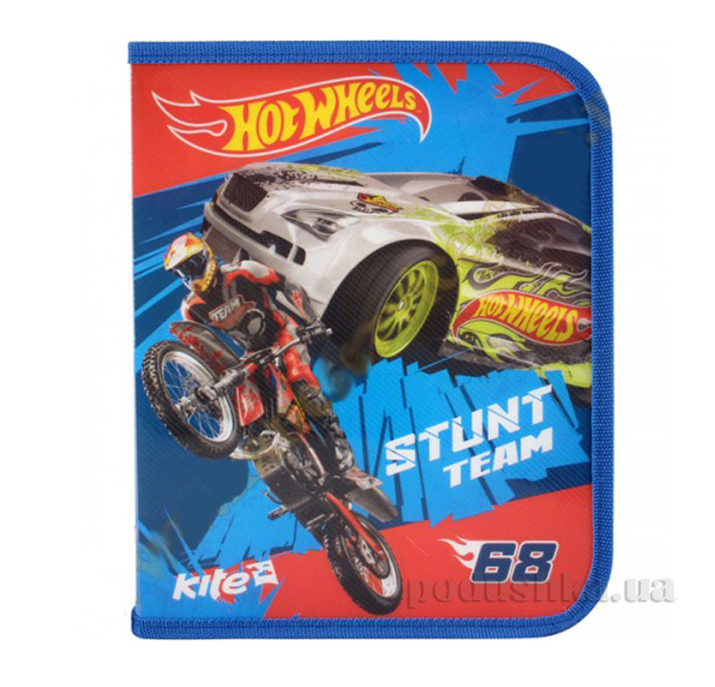 Папка на молнии Kite Hot Wheels HW14-203K