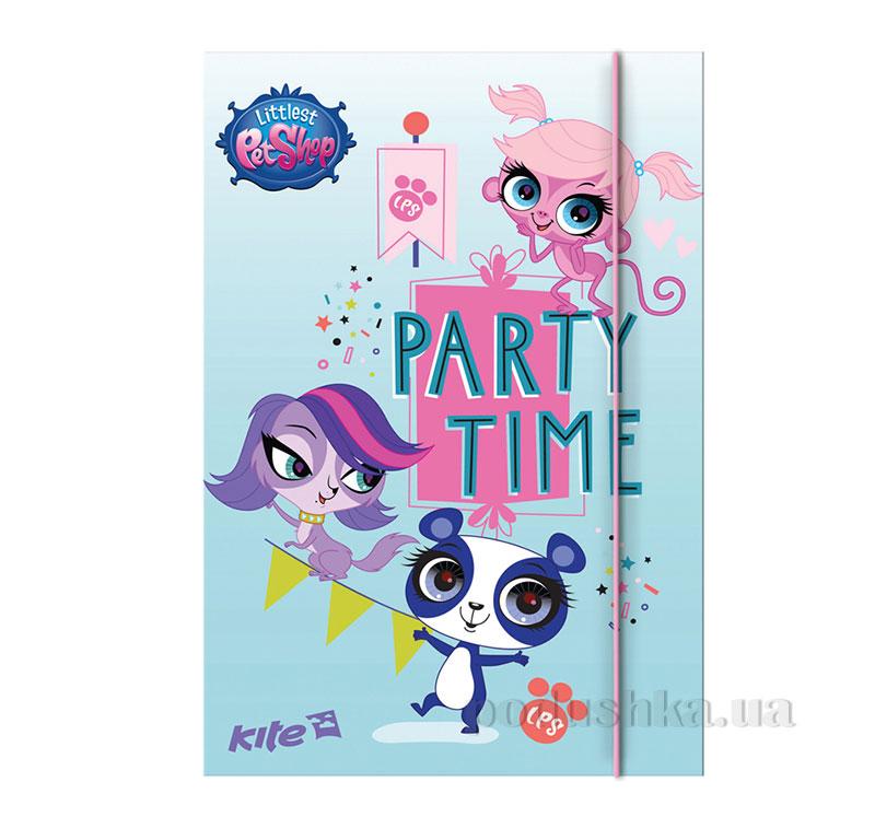 Папка на резинке Kite Pet Shop PS15-210K