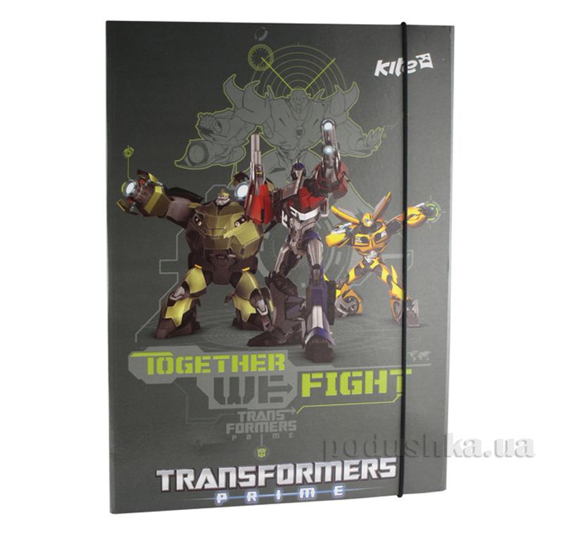 Папка на резинке Kite Transformers TF13-211K