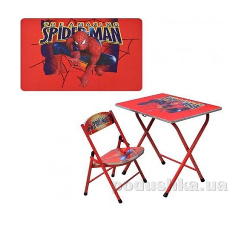 Парта Bambi DT 19-1 со стулом Спайдермен