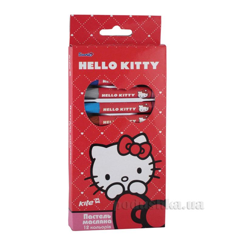 Пастель масляная 12 цветов Kite Hello Kitty HK13-071K