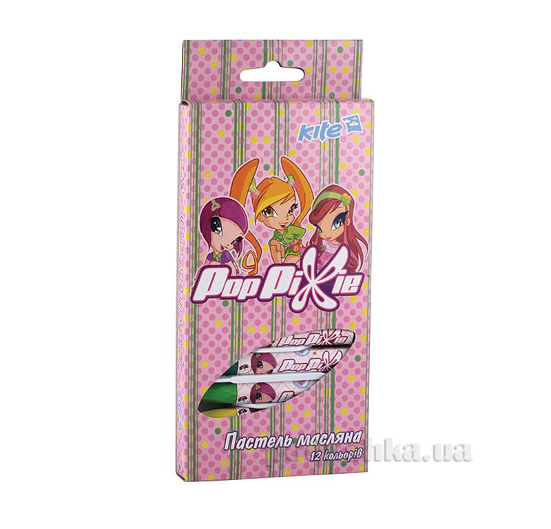 Пастель масляная 12 цветов Kite Pop Pixie PP13-071K