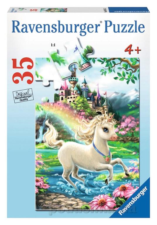 Пазл Ravensburger Замок Единорога 35 элементов