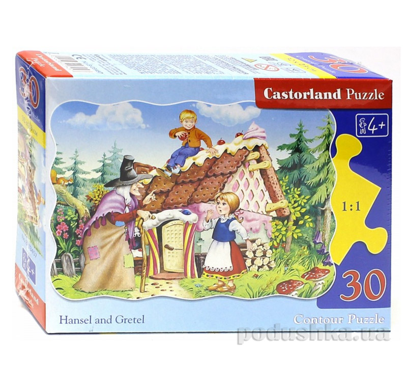 Пазлы Castorland Пряничный домик