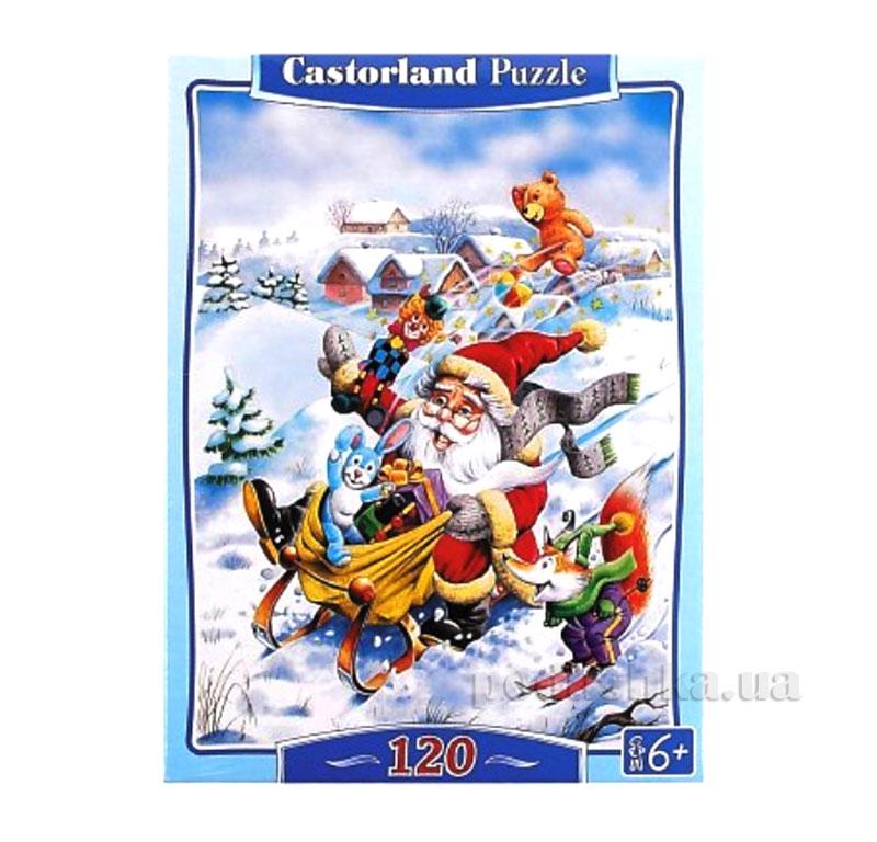 Пазлы Castorland Новый год В-13067