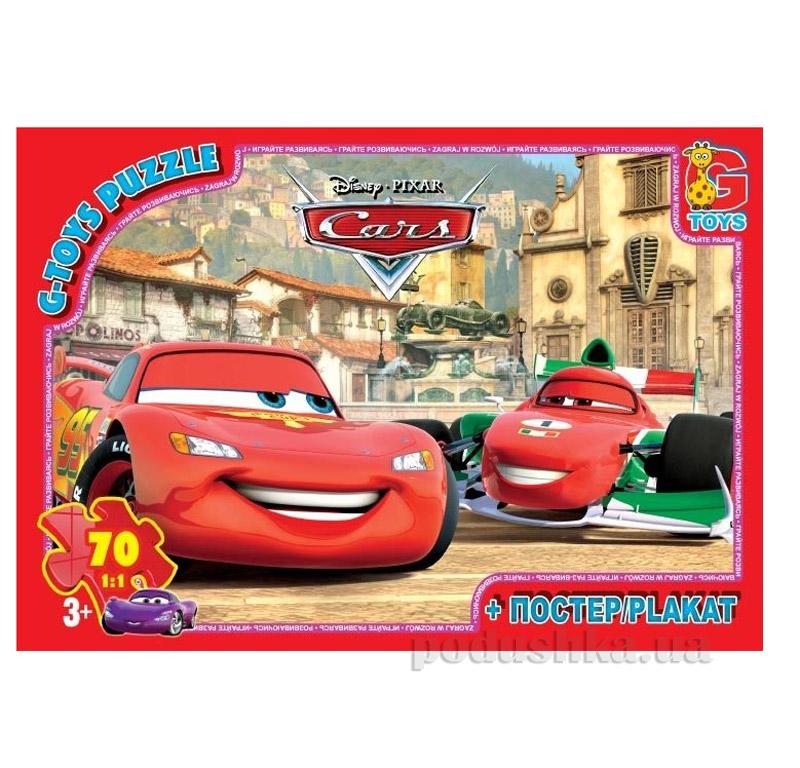 Пазлы G-Toys Машинки в городе Z10212