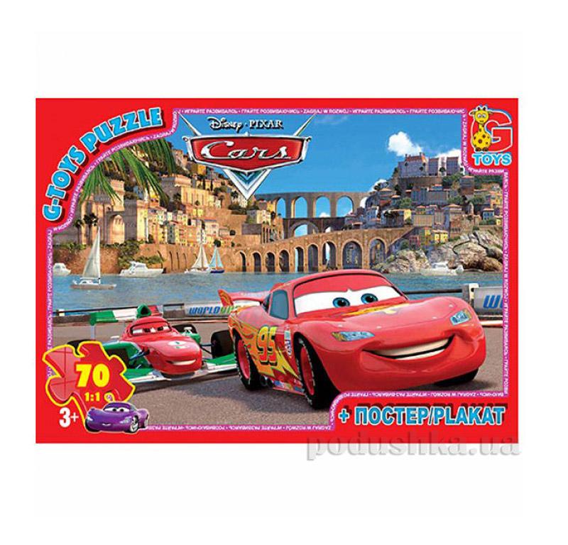 Пазлы G-Toys Машинки на трассе Z10209