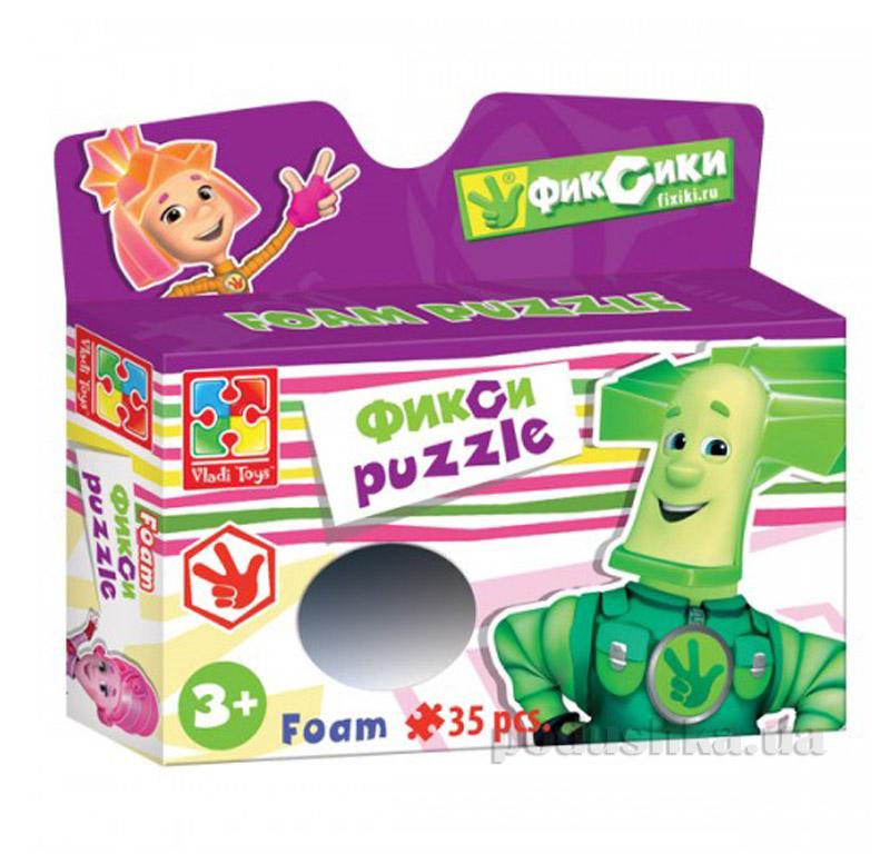 Пазлы мягкие Разноцветные человечки Папус Vladi Toys
