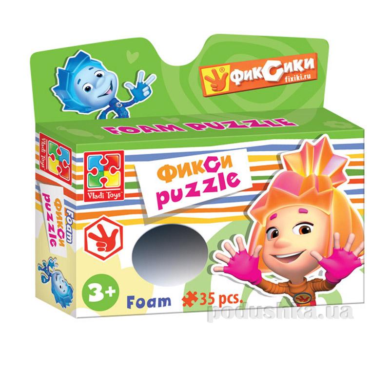 Пазлы мягкие Разноцветные человечки Симка Vladi Toys