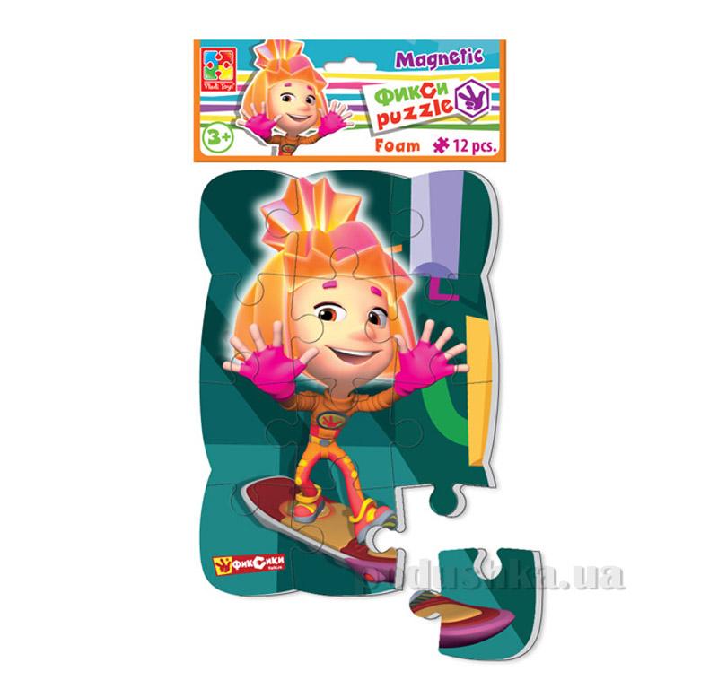 Пазлы на магните Разноцветные человечки Симка Vladi Toys