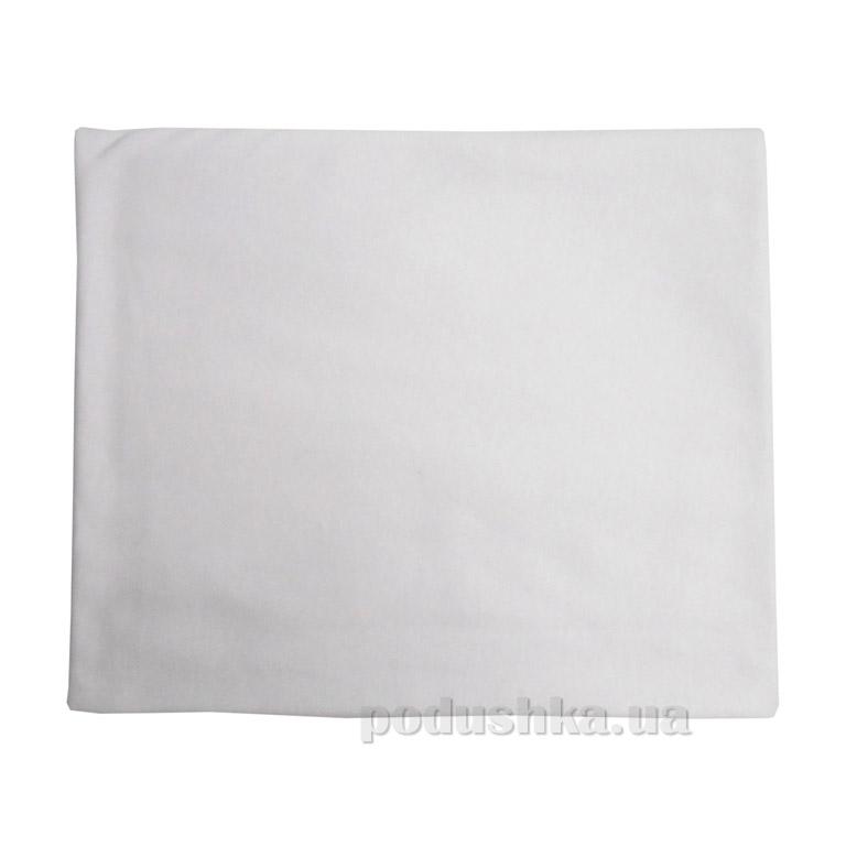 Пеленка трикотажная гладкокрашеная Руно белая
