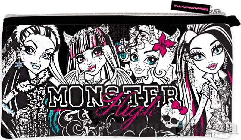 Пенал неопреновый широкий Monster High