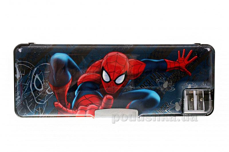 Пенал жесткий с точилками Spider Man