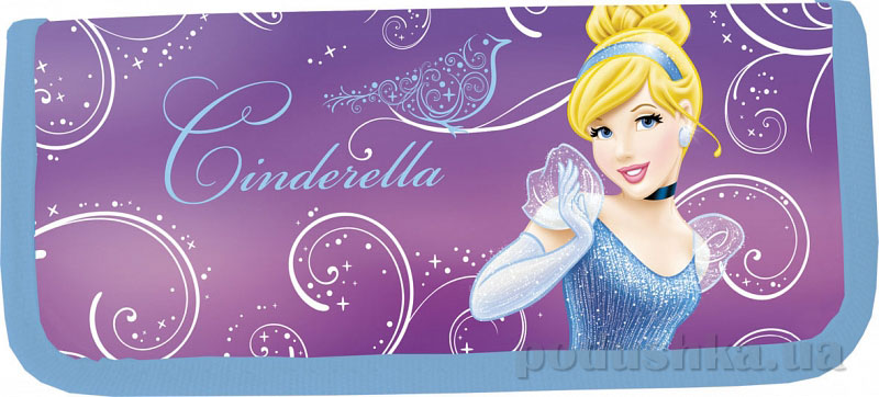 Пенал жесткий тканевый Princess