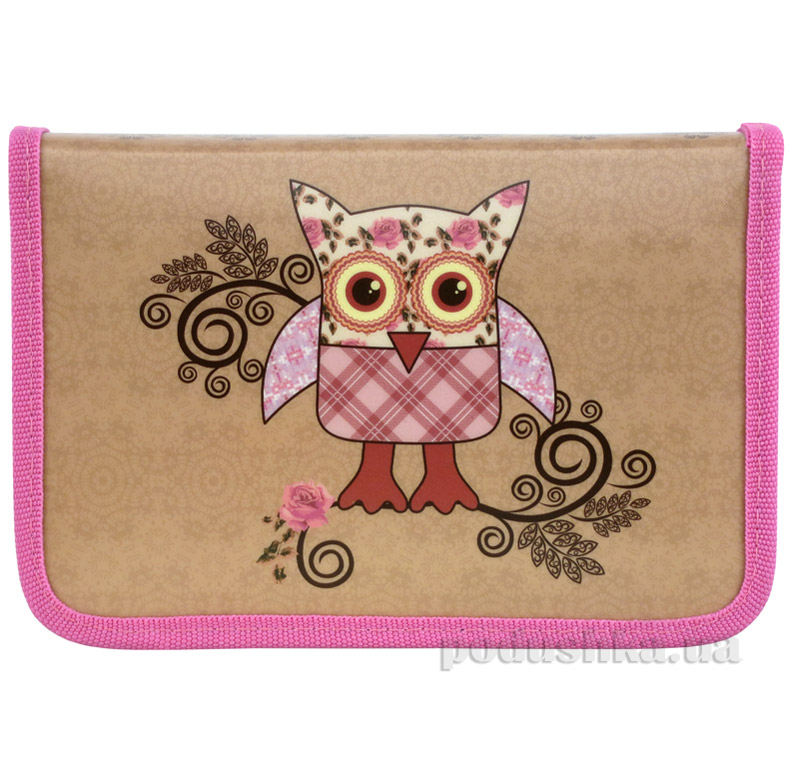 Пенал-книжка Kite Cute Owls 622