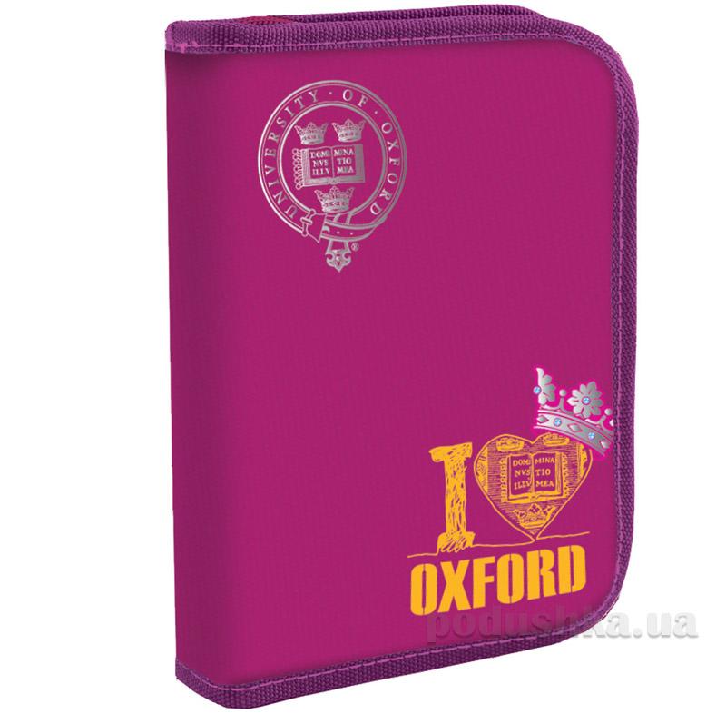 Пенал-книжка Oxford 1 вересня pink