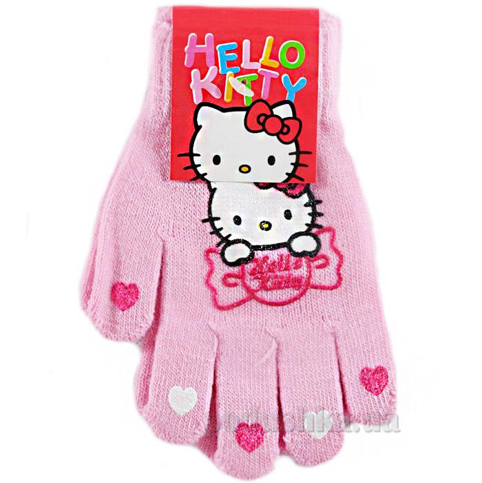 Перчатки для девочек Sun City NH4044pink Котенок