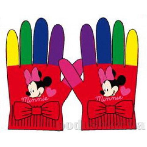 Перчатки для девочек Sun City HM4133red Мышонок