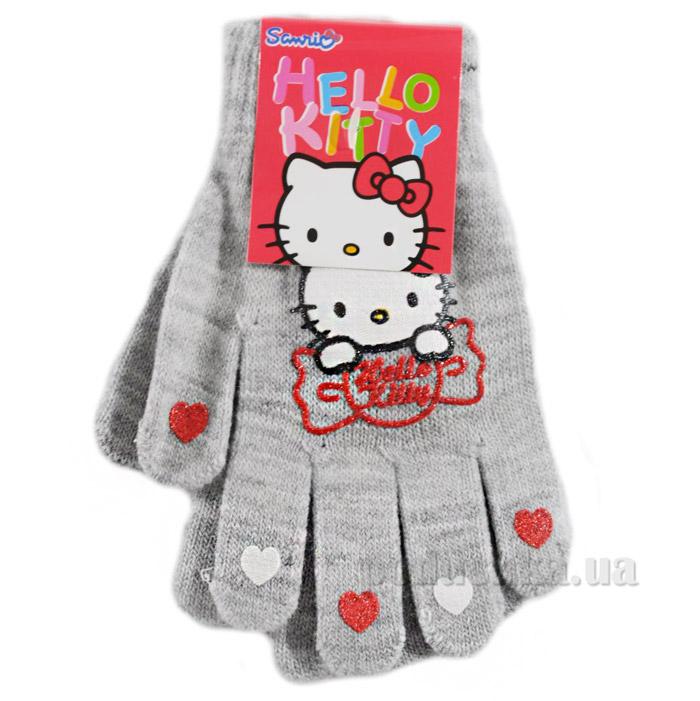 Перчатки для девочек Sun City NH4044grey Котенок