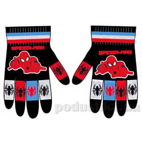Перчатки для мальчика Паук Sun City NH4204black