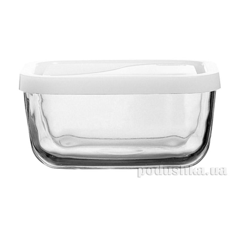 Пиала с крышкой пластиковой Pasabahce Snow Box 53733