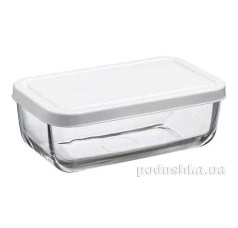 Пиала с крышкой пластиковой Pasabahce Snow Box 53743