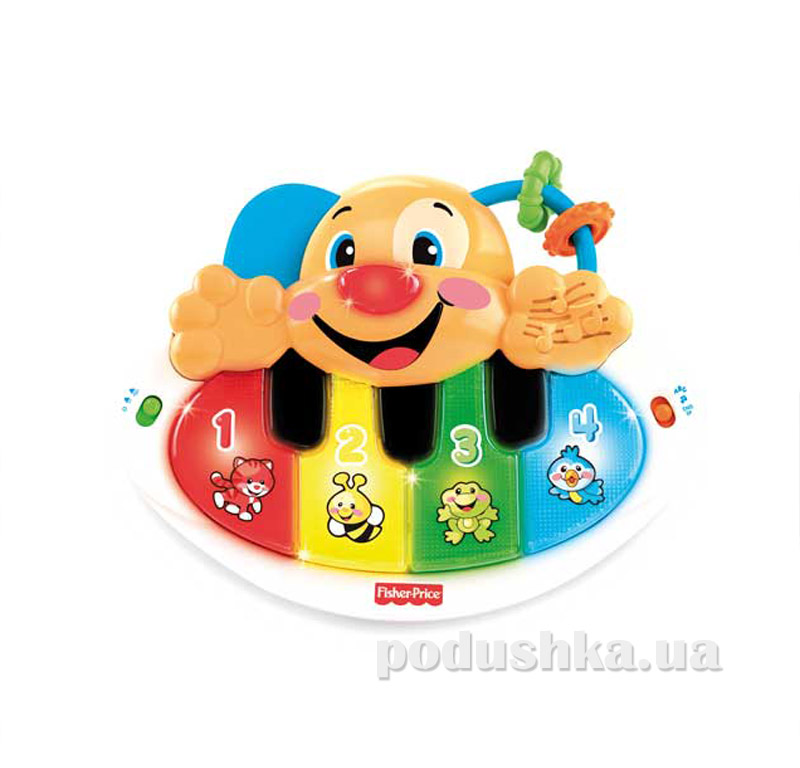 Пианино ученого щенка Fisher Price укр-англ версия