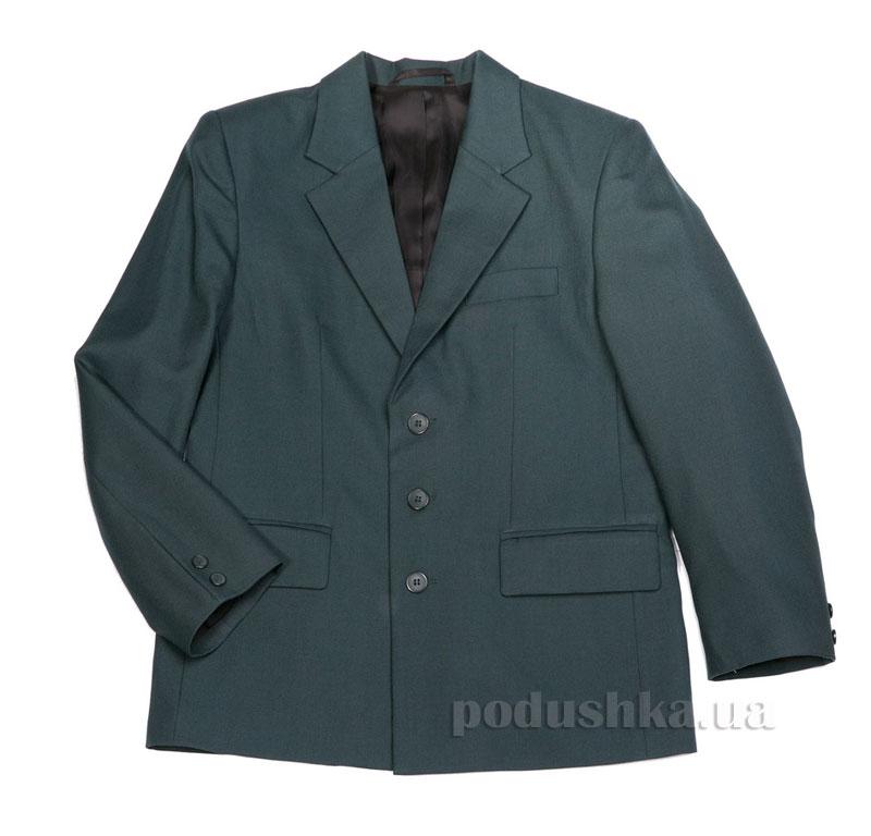 Пиджак для мальчика Юность 810 зеленый