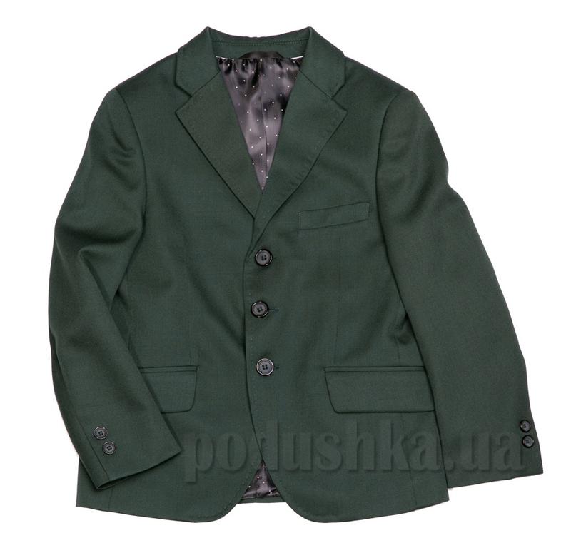 Пиджак однобортный на три пуговицы Юность 205 зеленый