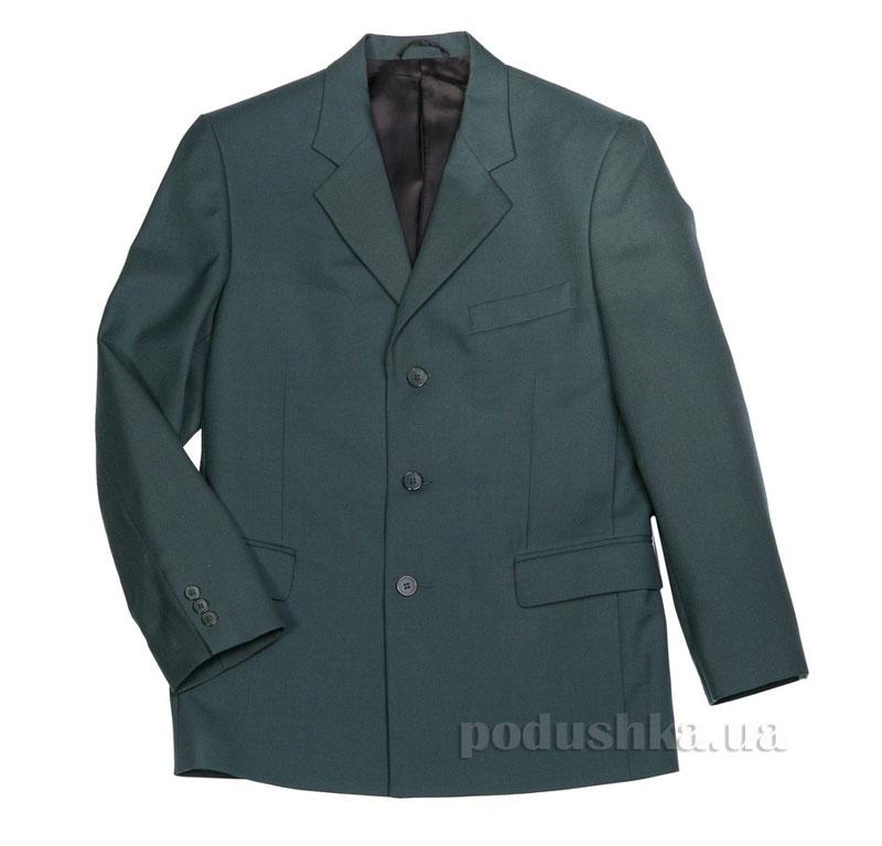 Пиджак подростковый для мальчика Юность 814 зеленый