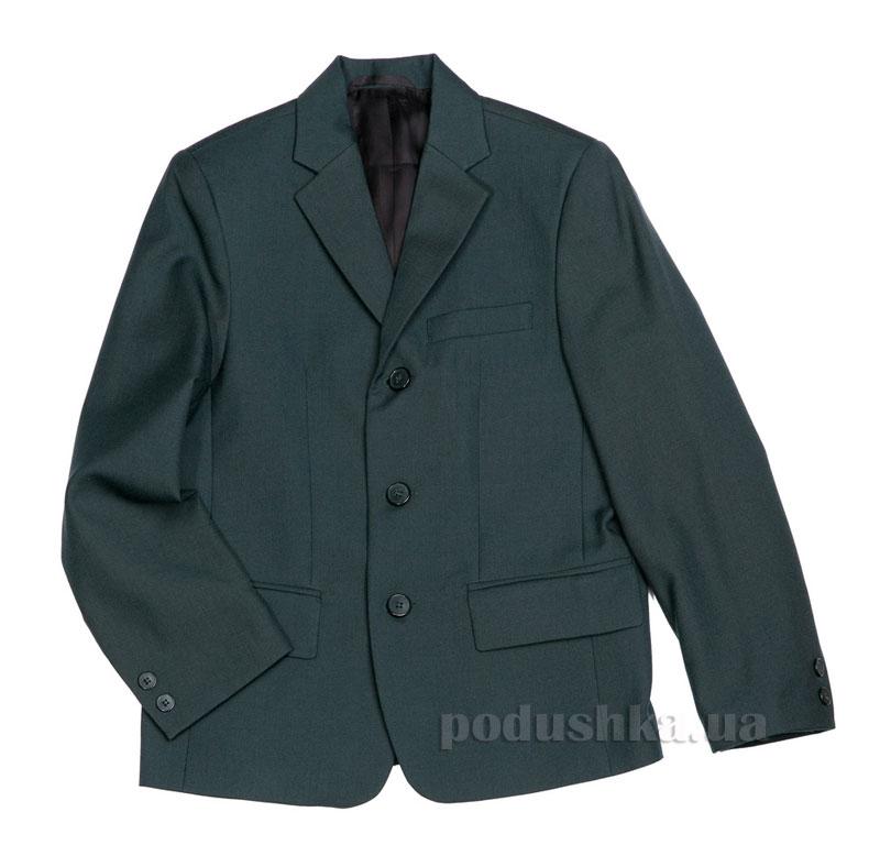 Пиджак школьный Юность 761 зеленый