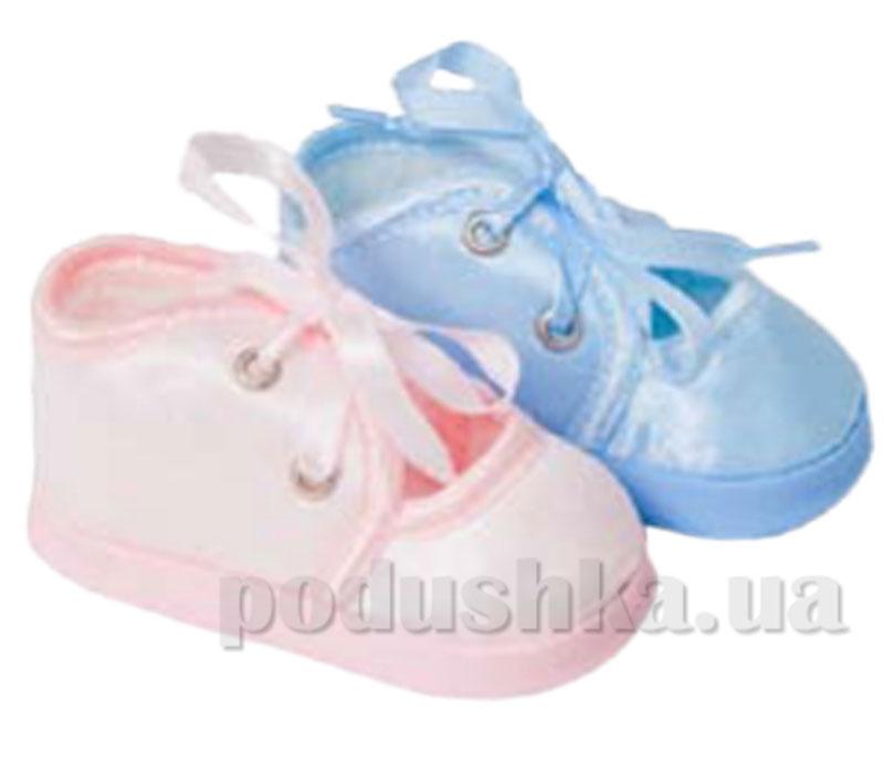 Пинетки атлас розовый Volypok M017/2.4-10