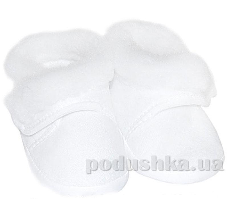 Пинетки белые зима велюр Volypok M008/7-10