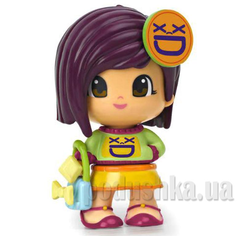 Кукла Смайлик Pinypon 700010140-3 с фиолетовыми волосами