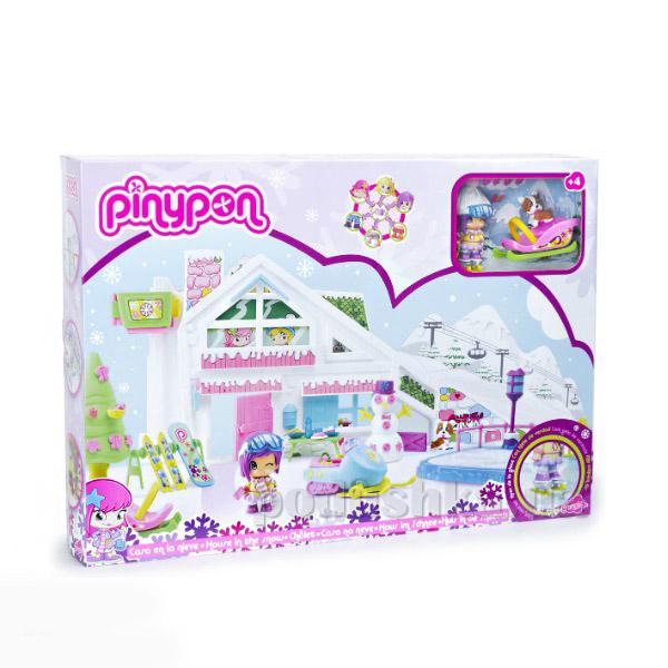 Игровой набор Большой дом Пинипон Зимняя сказка 700009684 Pinypon