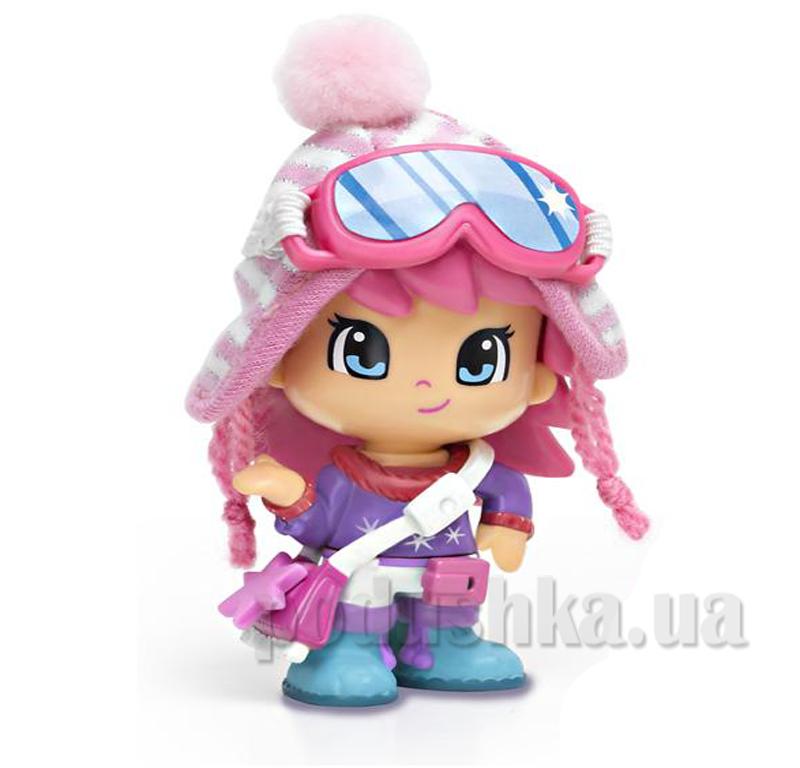 Кукла в зимней одежде с собакой Pinypon 700010265-1