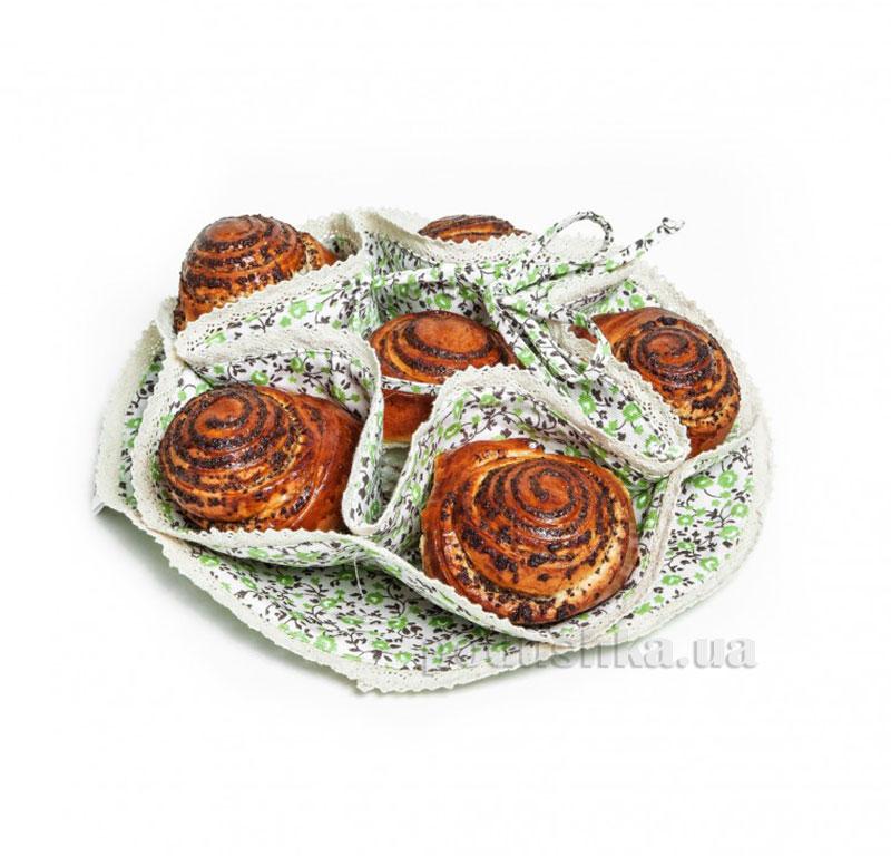 Пирожница Прованс Классик Цветы Олива