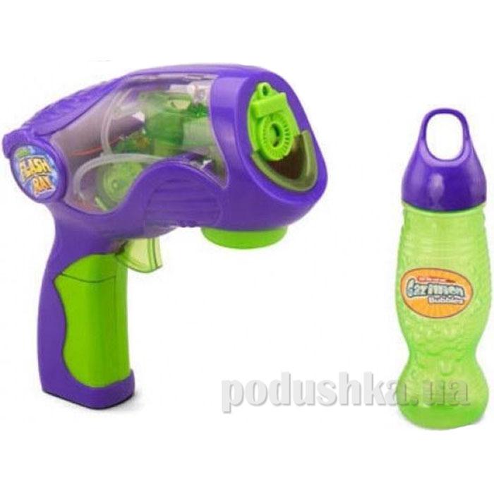 Пистолет для стрельбы Газиллионовыми пузырями Флеш Рей звук свет 36143 Gazillion