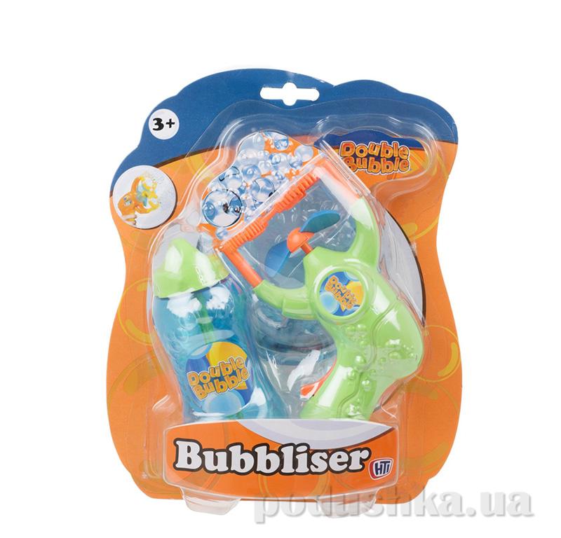 Пистолет для выдувания пузырей Double Bubble   + 125 мл бутылочка