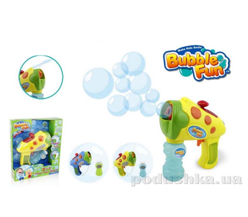 Пистолет по производству мыльных пузырей Bubble Fun