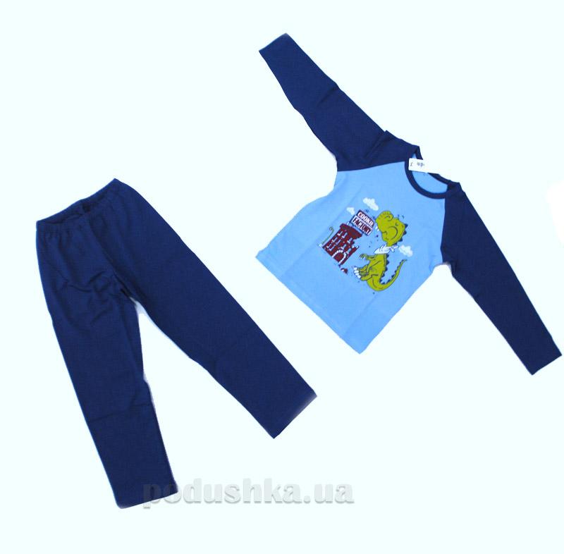 Пижама детская 1333П МТФ голубой джинс