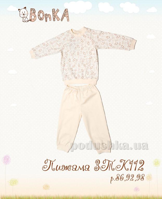 Пижама детская Bonka 3ТК112 шампань
