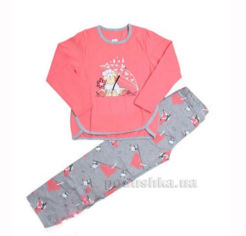 Пижама детская МТФ 4441 П Мишки розовая