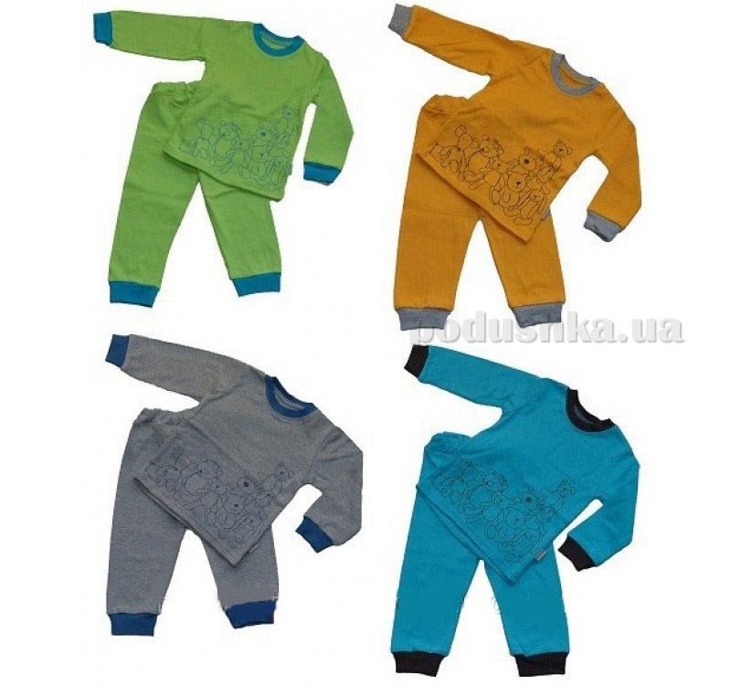 Пижама детская Robinzone ПЖ18 с начесом