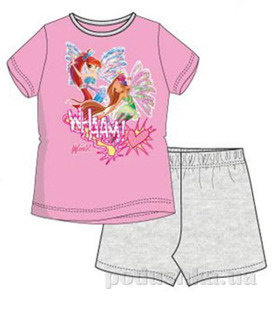 Пижама детская Sun City Фея розовая