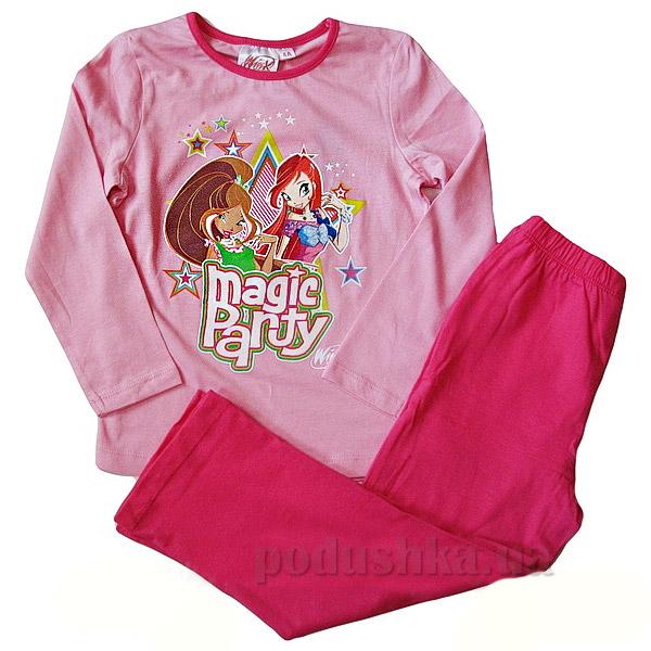 Пижама для девочек Sun City Феи NH2137pink