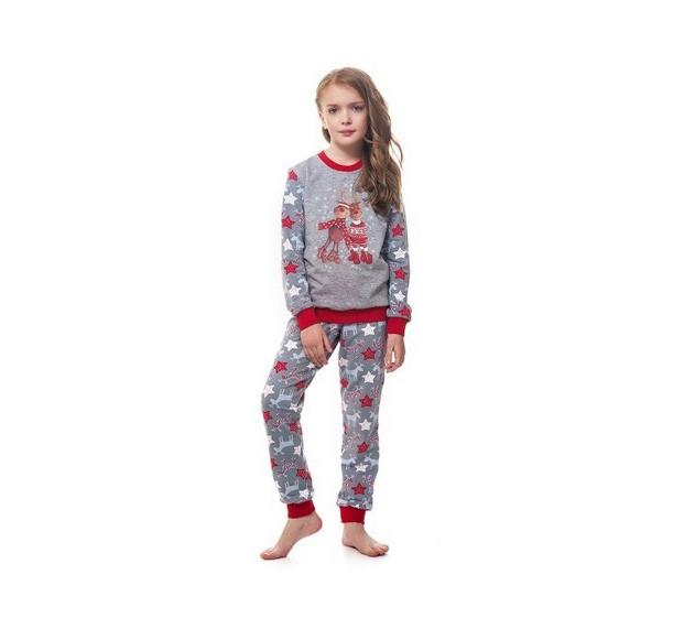 Пижама для девочки Ellen GNP 016 002 BNP 027 001 Олени Звездочки ... 376a5001489eb