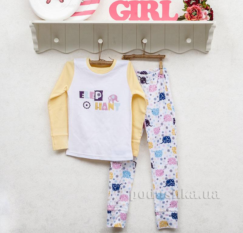 Пижама для девочки Фламинго 247-212