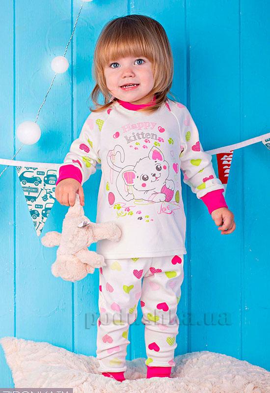 Пижама для девочки Щасливый котенок Zironka 905-015